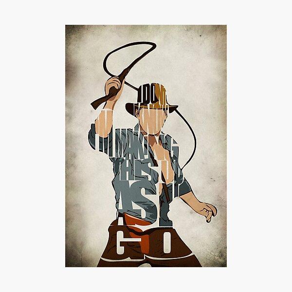 Indiana Jones Photographic Print