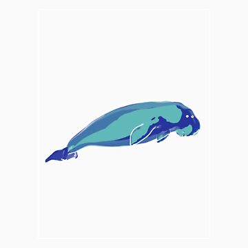 Dugong Blue Green B by noelr7