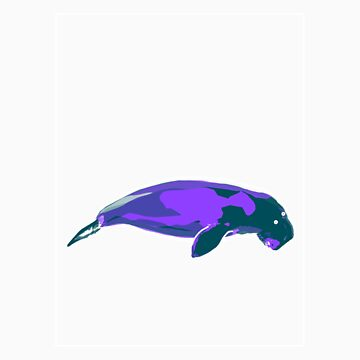 Dugong Mauve Green D by noelr7