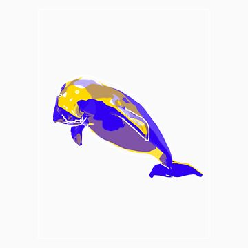 Dugong Yellow Blue E by noelr7