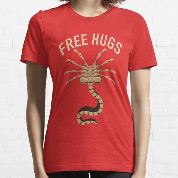 Alien Facehugger Free Hugs Xenomorph Essential T-Shirt