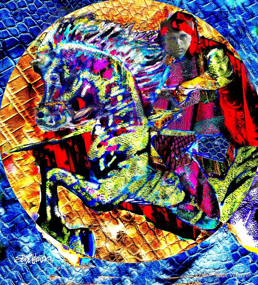 Sir Dwayne the Dragonslayer by Seth  Weaver