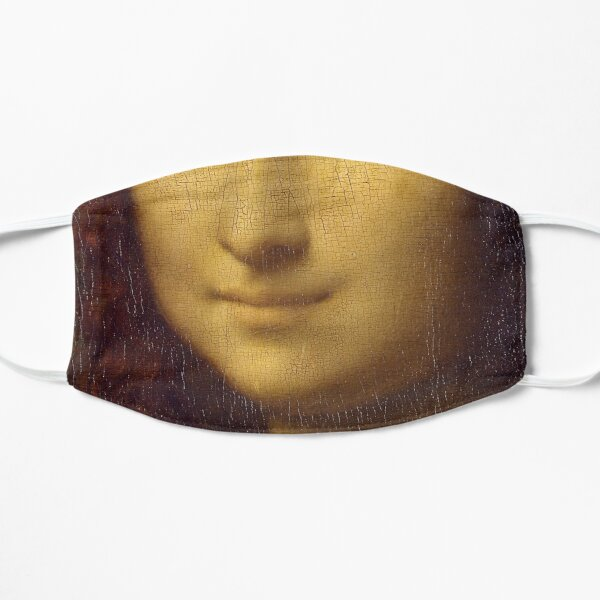 Mona Lisa face mask Mask