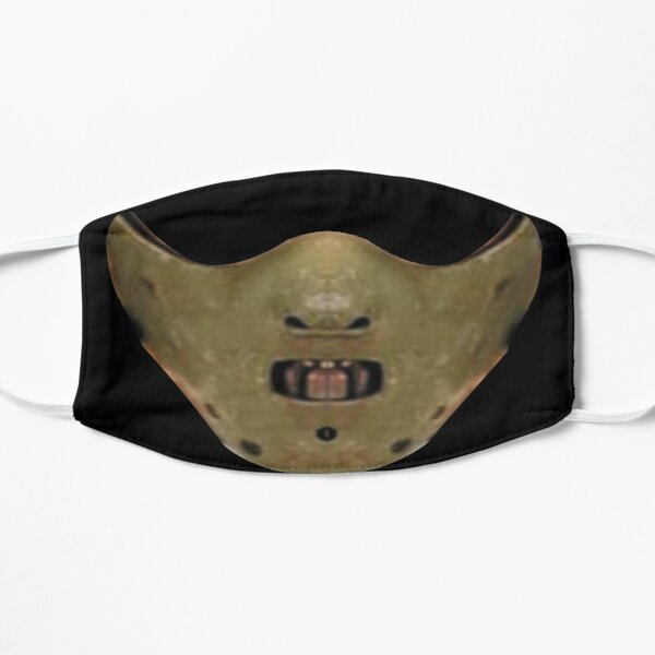 mask the silence of the lambs Flat Mask