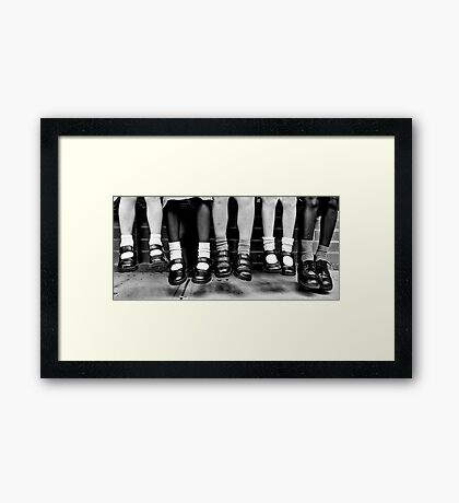 Lift-off Framed Print
