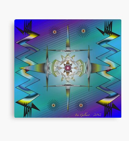 Tribal Inspiration Canvas Print