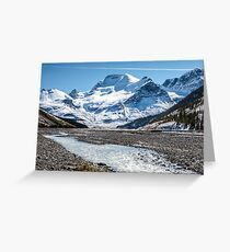 Mount Athabasca Greeting Card