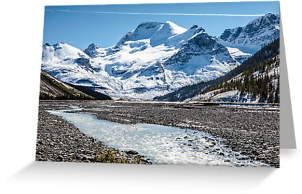 Mount Athabasca by Jim Stiles