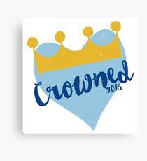 Crowned 2015 Canvas Print