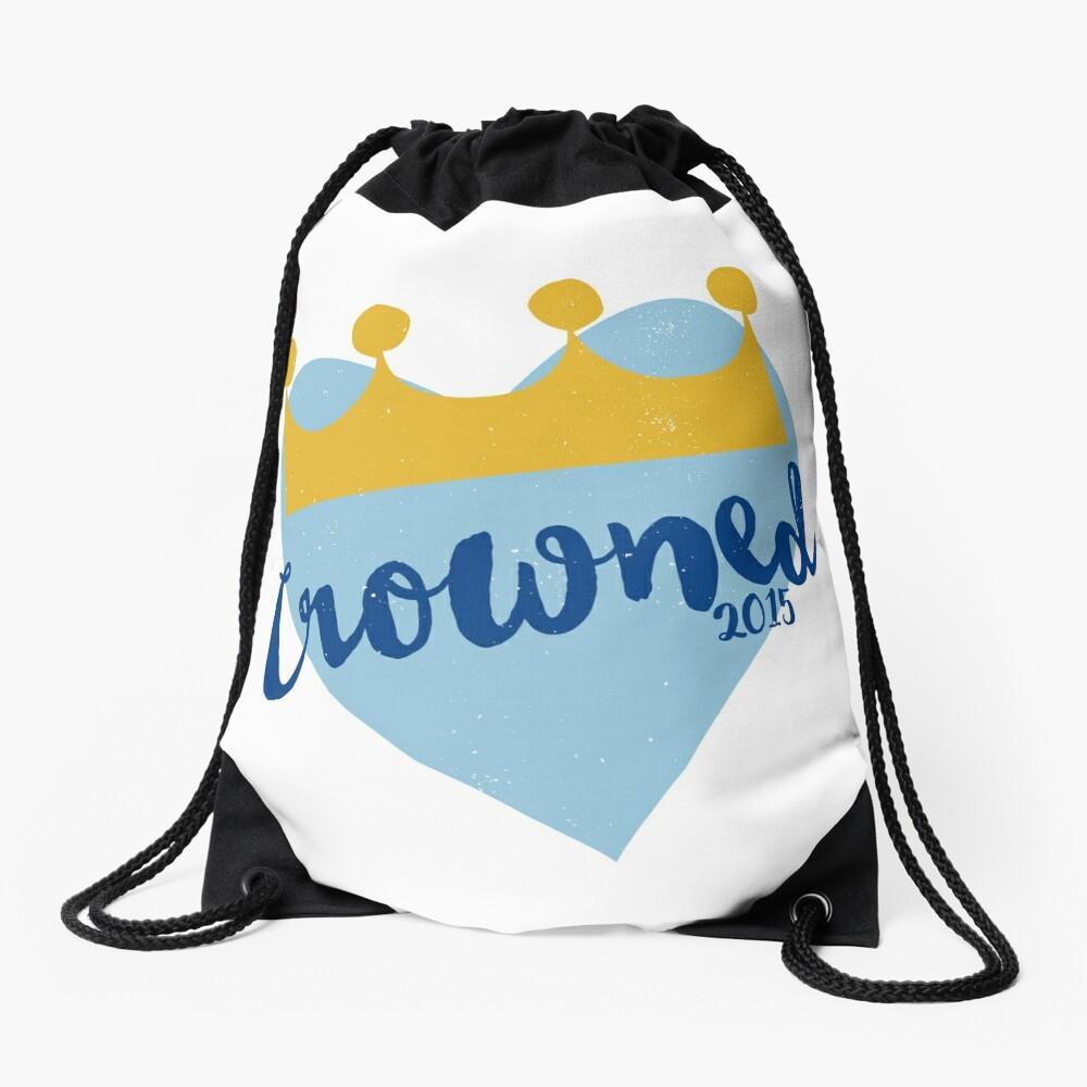 Crowned 2015 Drawstring Bag Front