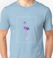 Flamingo Mauve Green E T-Shirt