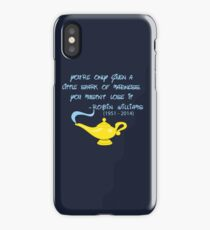 Robin Williams quote iPhone Case
