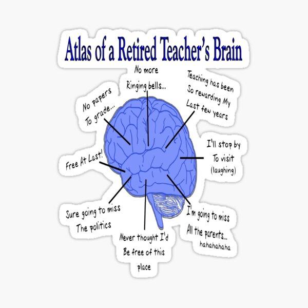 Funny Retired Teacher  Sticker