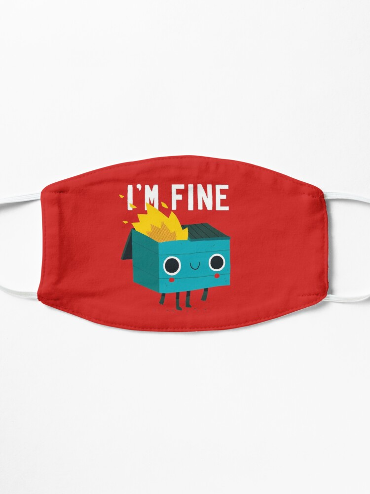 Alternate view of Dumpster Is Fine Mask