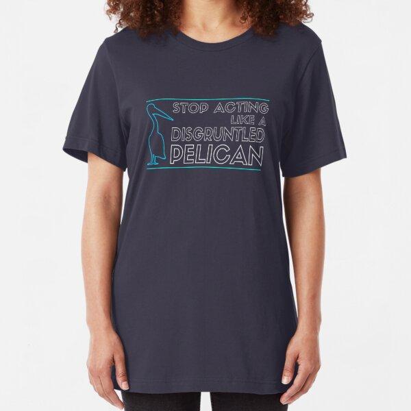 Disgruntled Pelican Slim Fit T-Shirt