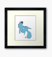 Water Dork Framed Print