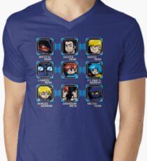 MEGA PILGRIM Men's V-Neck T-Shirt