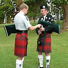 Scottish Bagpipe Band Practice New Zealand by TonySlattery