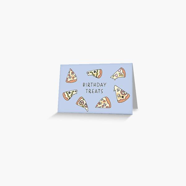 Birthday Pizza Greeting Card