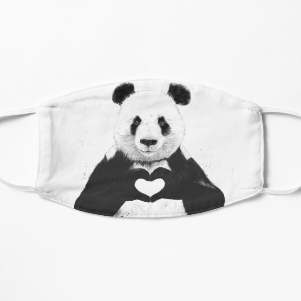 All you need is love Flat Mask