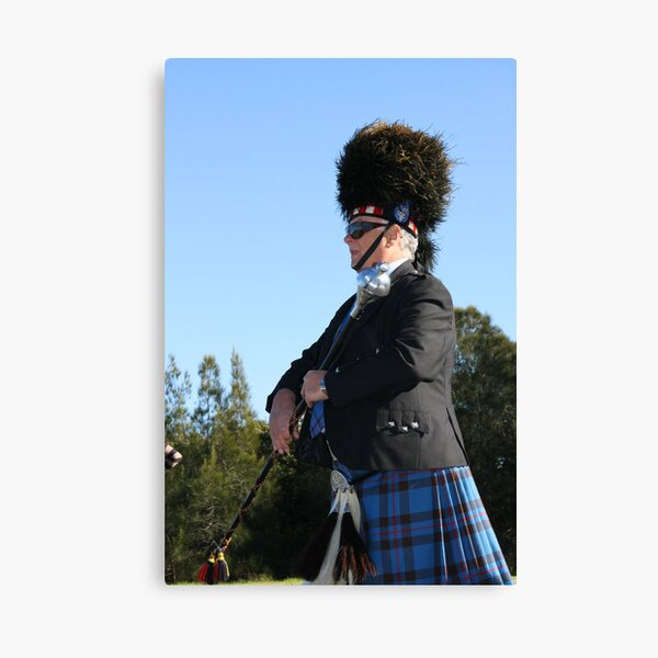 Drum Major  Canvas Print