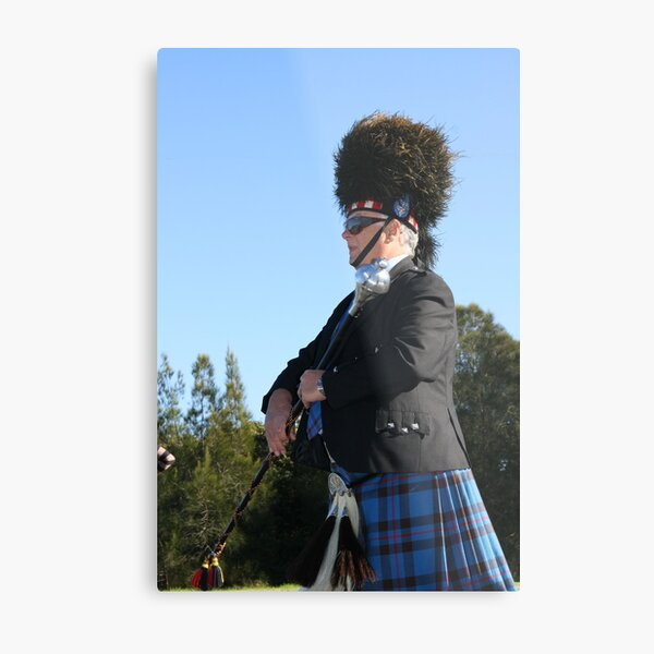 Drum Major  Metal Print
