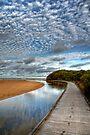 The Boardwalk to Rocky Point by Christine Smith