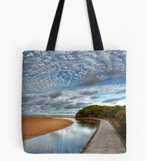 The Boardwalk to Rocky Point Tote Bag