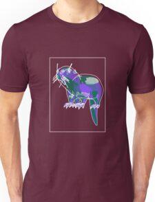 Otter Mauve Green E Unisex T-Shirt