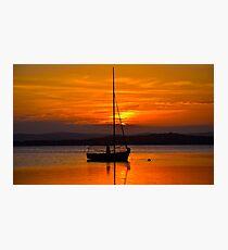 Nautical Sunset. Photographic Print