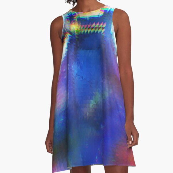 Pixelated Doctor A-Line Dress