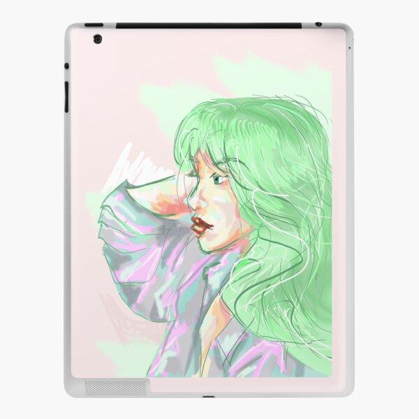Mint Girl iPad Skin