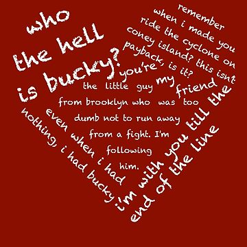 Quotes of the Heart - Stucky (White) by fairy911911