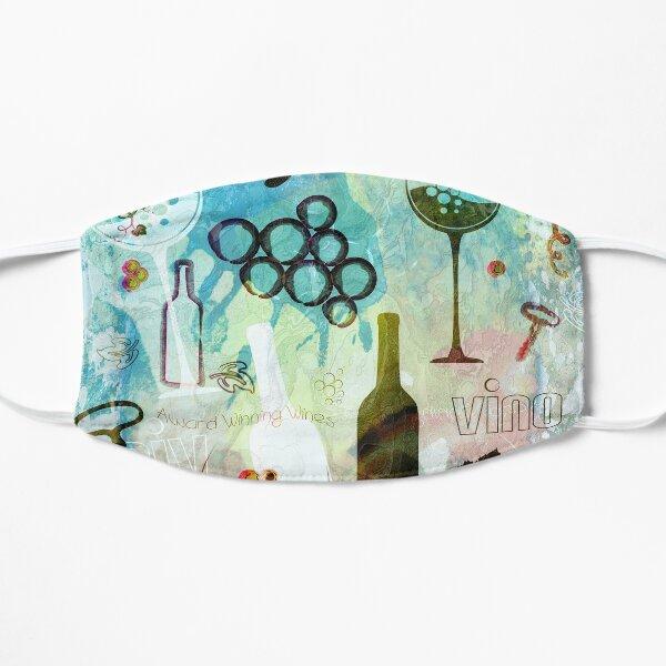 Wine Background Pattern - Multicolored Flat Mask