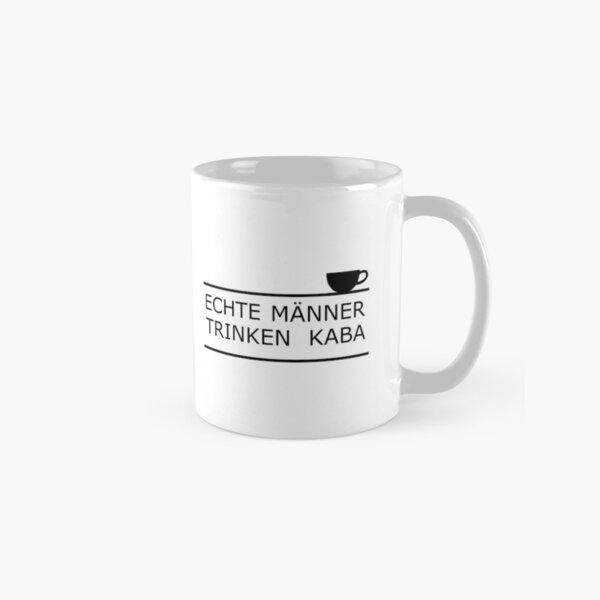 Real men drink Kaba Classic Mug