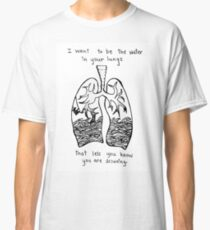 Sorority Noise Blissth Lyrics Classic T-Shirt