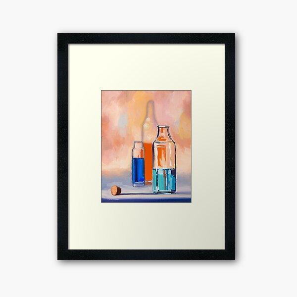 Potions III Framed Art Print