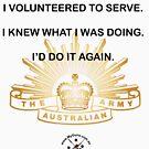 I served, I am Proud. by NemesisGear