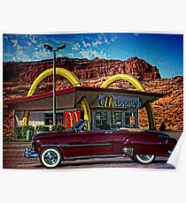 1951 Chevrolet Convertible Poster