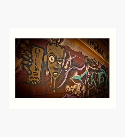 Crazy Egypt  Art Print