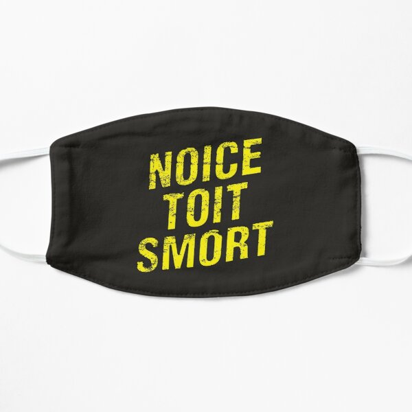 Brooklyn Nine Nine™ Noice Toit Smort Flat Mask