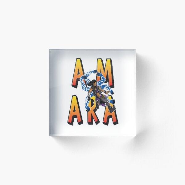 Amara The Siren Vault Hunters Borderlands 3 The Tiger of Partali Acrylic Block