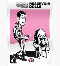 Toy Stories - Reservoir Dolls Poster