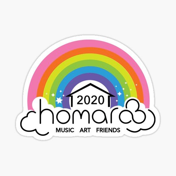 Homaroo 2020 Rainbow Sticker