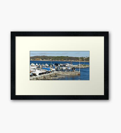 Waiting for warmer weather Framed Print
