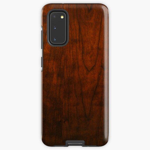 Mahogany Wood Texture  Samsung Galaxy Tough Case