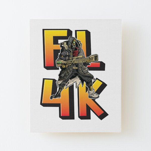 FL4K The Beastmaster Borderlands 3 Rakk Attack! Wood Mounted Print