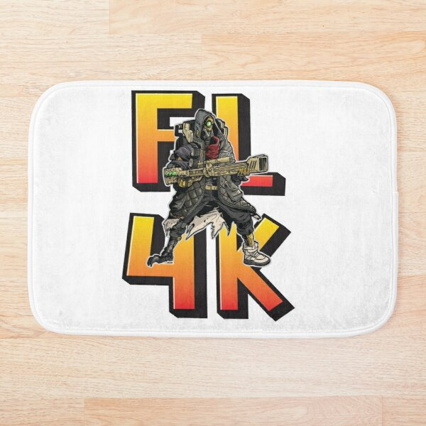 FL4K The Beastmaster Borderlands 3 Rakk Attack! Bath Mat