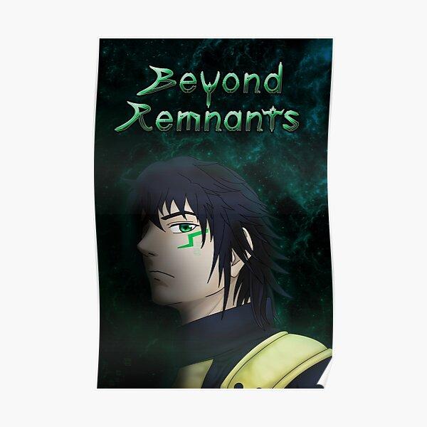 Beyond Remnants - Glitch Poster