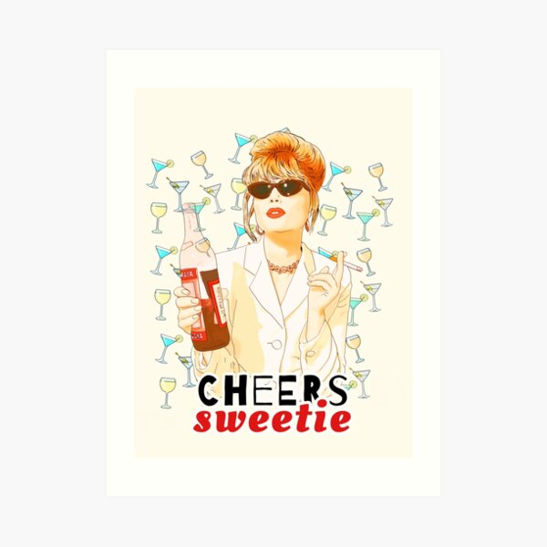 Cheers chérie Patsy Stone absolument fabuleux Impression artistique